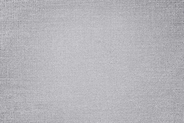 Zilveren katoenen stof getextureerde achtergrond