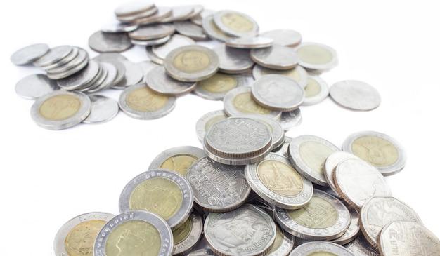 Zilveren munten van thailand