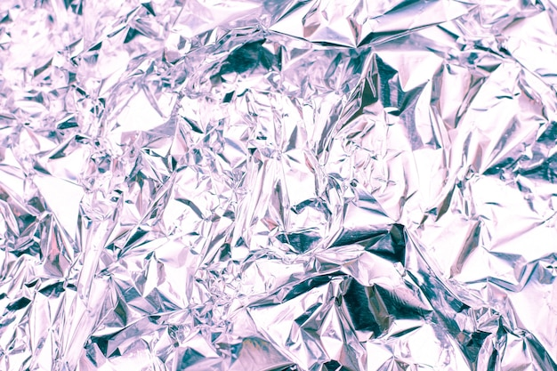 Zilverfolie met glanzend oppervlak