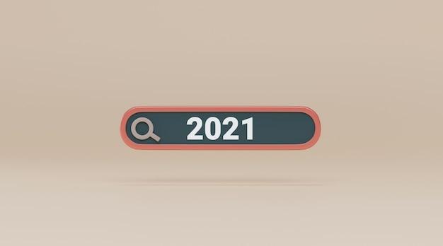 Zoekbalk met 2021.