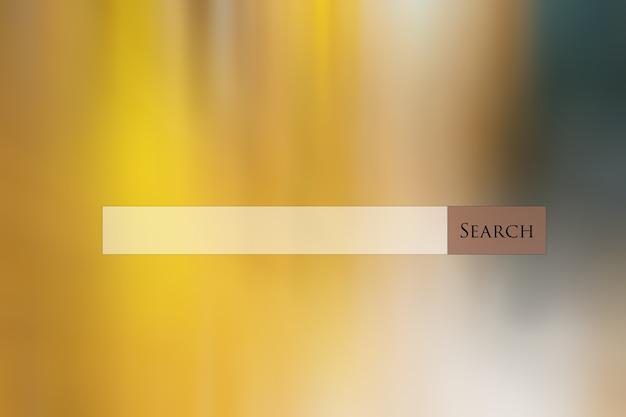 Zoekbalkweb op veelkleurige abstracte achtergrond