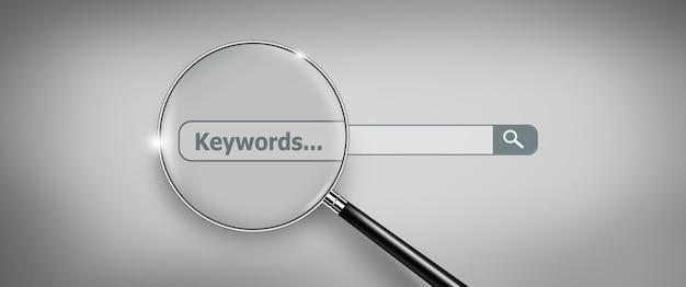 Zoeken surfen op internet data informatie netwerken concept