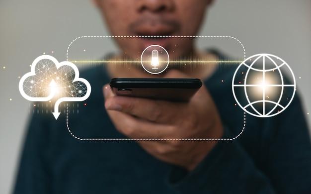 Zoeken surfen op internet gegevens informatie netwerken concept