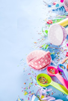 Zoet bakken voor verjaardagsfeestje