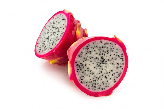 Zoet smakelijk geïsoleerd draakfruit
