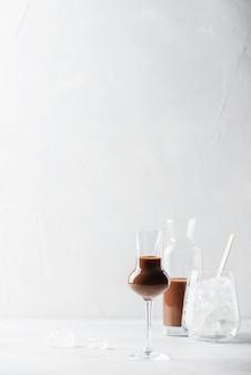 Zoete chocoladelikeur