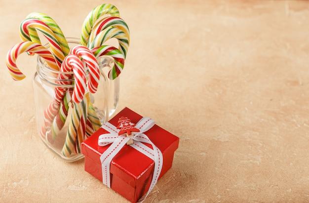 Zoete decoratie van kerstmis