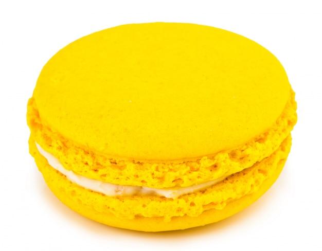 Zoete en kleurrijke franse bitterkoekjes of macaron, dessert