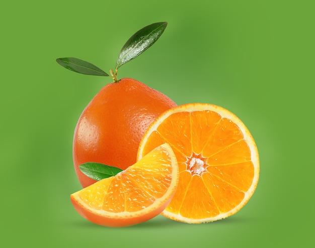Zoete en sappige sinaasappel