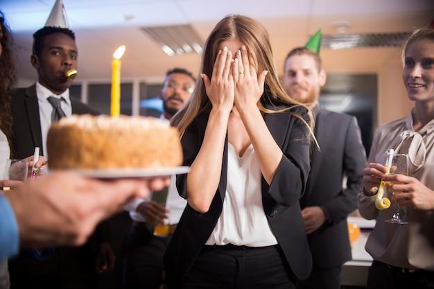Zoete verrassing voor verjaardag