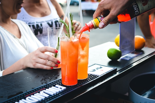 Zomer cocktailparty