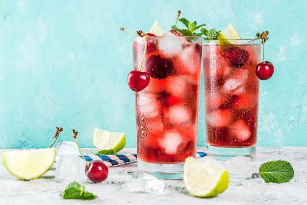 Zomer ijs verfrissend drankje