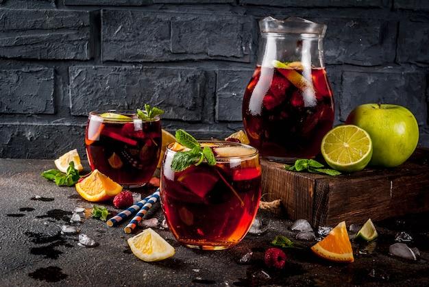 Zomer koude cocktail