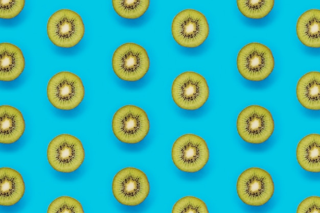 Zomer patroon met kiwi's Gratis Foto