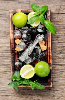 Zomer verfrissende cocktail mojito