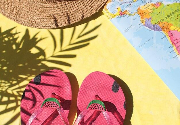 Zomerseizoen vakantie concept
