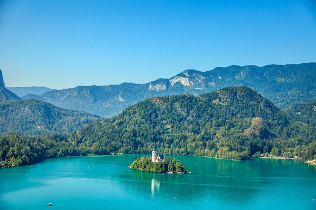 Zomertijd in bled
