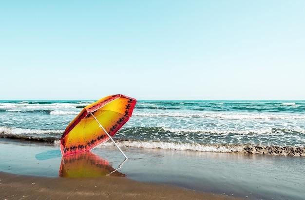 Zomervakantie op het strand