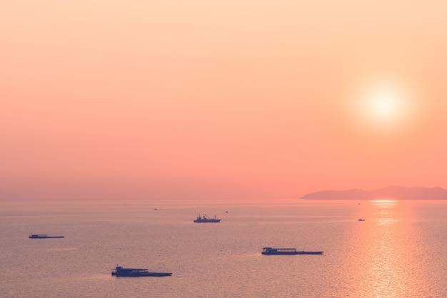 Zon oceaan schip vakantie water