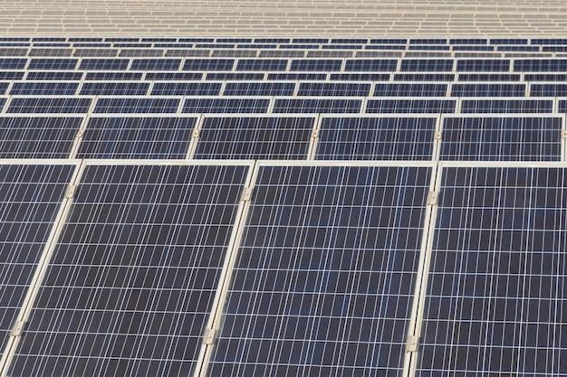 Zonne-energie batterijen