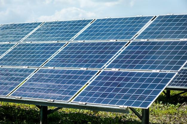 Zonne-energie krachtcentrale