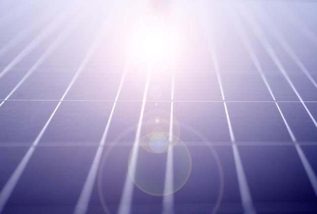 Zonne-energiepanelen ecovermogen industrieel voor hernieuwbare energie