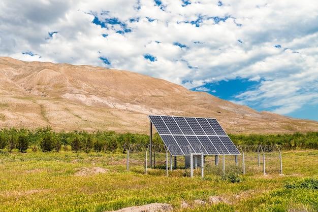 Zonnebatterij bron van alternatieve energie