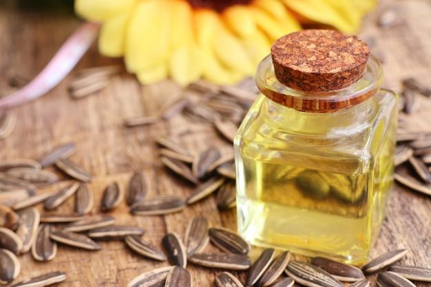 Zonnebloemzaad en oliën
