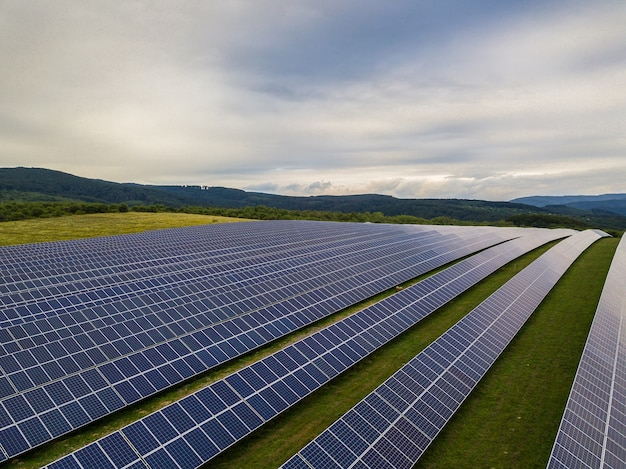 Zonnepaneel alternatieve energie fotovoltaïsche