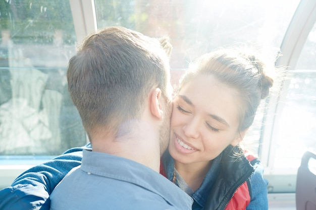 Zonnige kus
