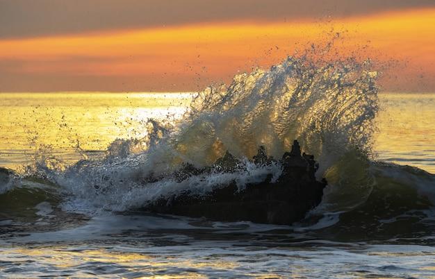 Zonsopgang kust