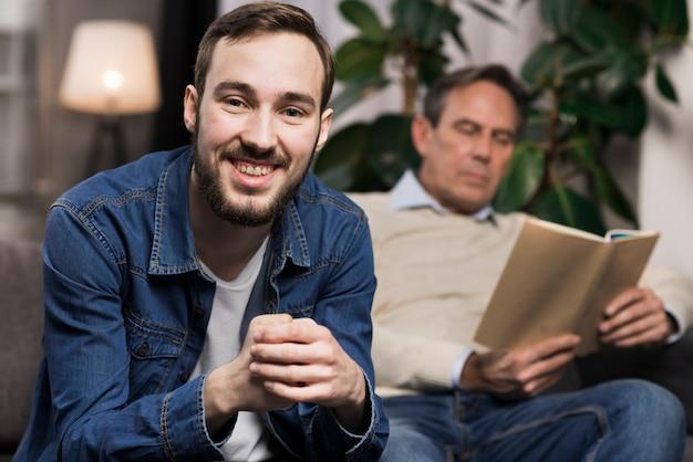 Zoon die zich voordeed tijdens vaderlezing