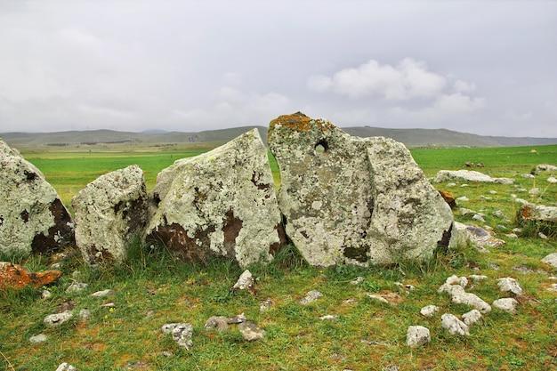 Zorats karer oude ruïnes in armenië