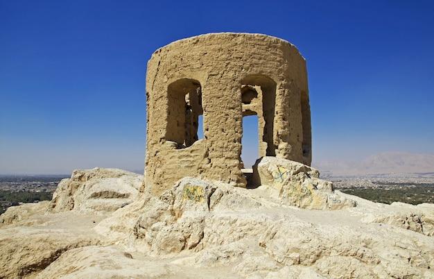 Zoroastrische tempel in isfahan, iran