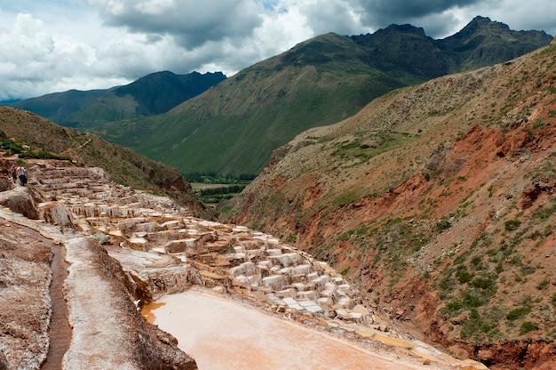 Zoutvijver, maras, heilige vallei, regio cusco, peru