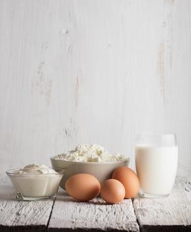 Zuivelproducten en eieren