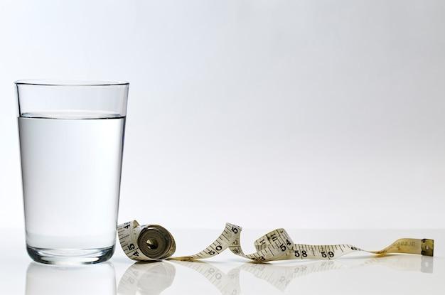 Zuiver water gewichtsverlies