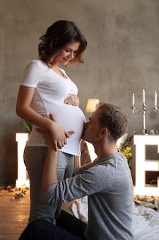 Zwanger paar