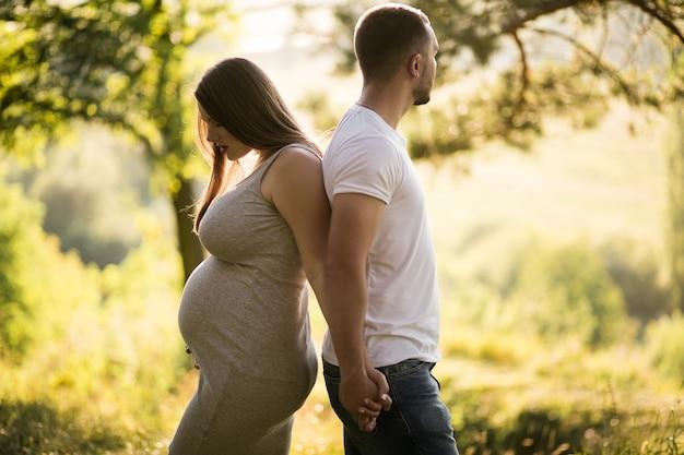 Zwangere paar