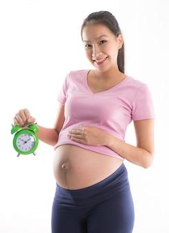 Zwangere vrouw