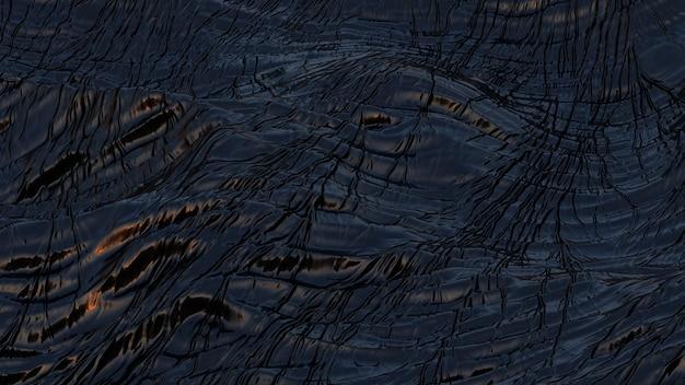 Zwart abstract