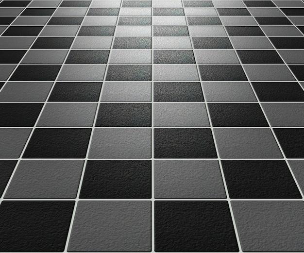 Zwart en grijs ruw mozaïek