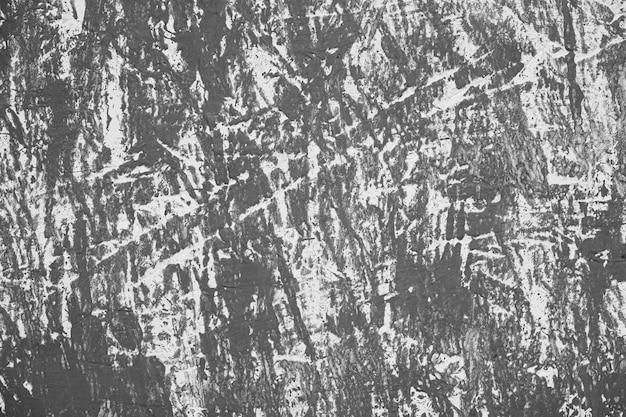 Zwart en wit vintage muur met krassen