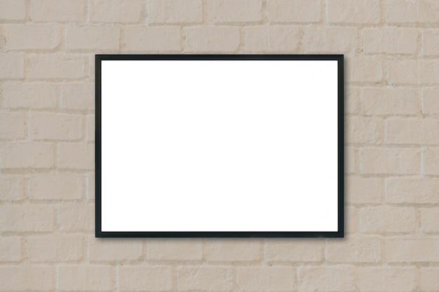 Zwart frame opknoping van een muur