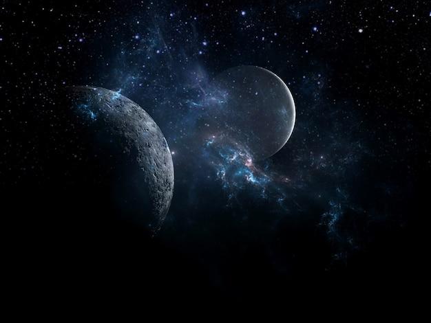 Zwart gat planeten en melkweg science fiction behang schoonheid van de diepe ruimte miljarden melkwegstelsels in het universum kosmische kunst achtergrond verticale afbeelding voor smartphone achtergrond