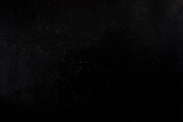 Zwart gekreukeld papier textuur
