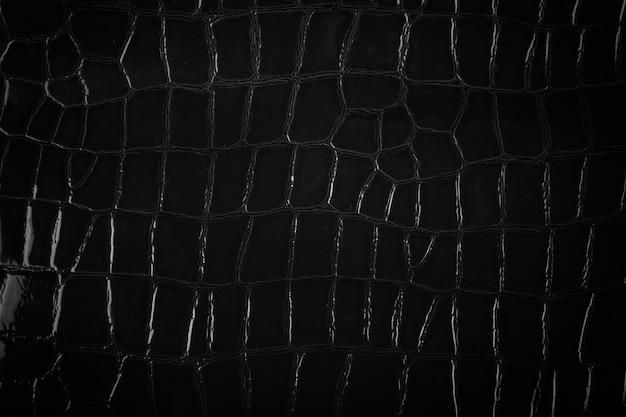 Zwart leder texture.