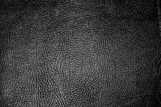 Zwart lederen krokodil achtergrond en textuur
