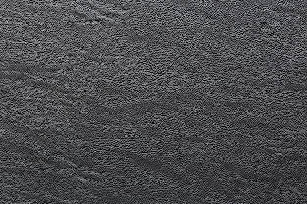 Zwart leer en textuurachtergrond.