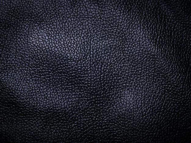Zwart leer textuur achtergrond